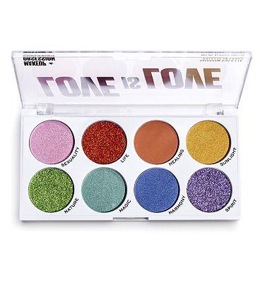 Makeup Obsession Pride Eyeshadow Palette Love is Love