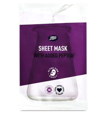 Boots Peptide Sheet Mask by Boots