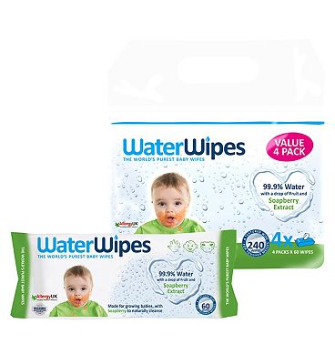 Gentle All Over Multipack, 4x60 = 240 wipes