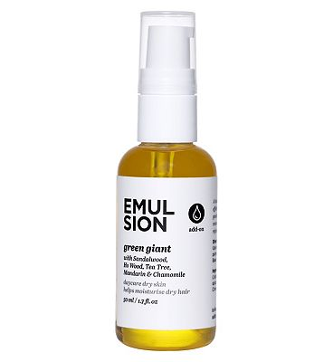 Emulsion Essential Oil, Green Giant, 50ml Dry Hair