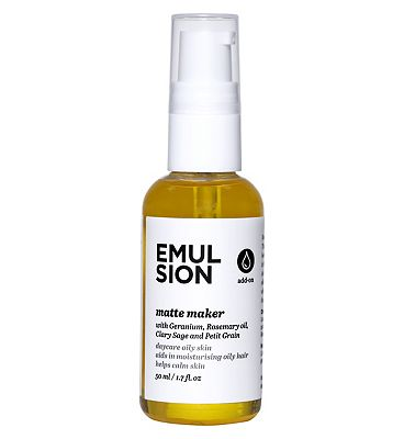 Emulsion Essential Oil, Matte Maker, 50ml Oily Hair.