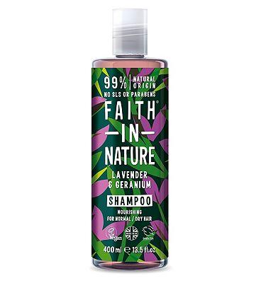 Faith In Nature Lavender And Geranium Shampoo