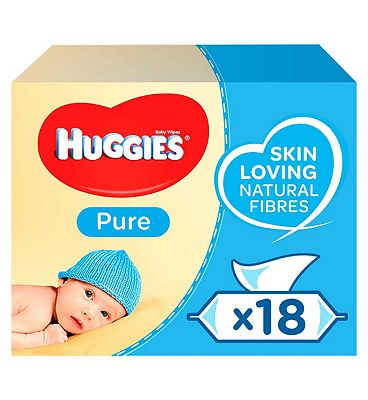 Pure Baby Wipes Multipack, 18x56 = 1008 wipes