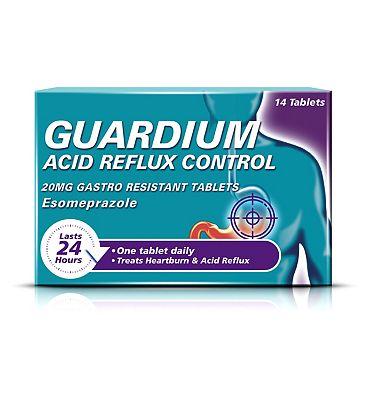 Guardium Acid Reflux Control 20mg Gastro-Resistant Tablets 14s