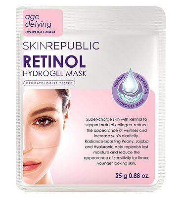 Skin Republic Retinol Hydrogel Face Sheet Mask 25ml
