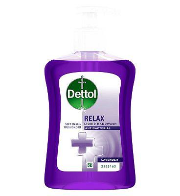 Dettol Antibacterial Care Liquid Hand Wash Lavender 250ml