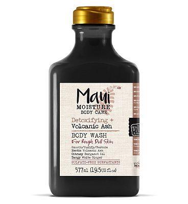 Maui Moisture Detoxifying + Volcanic Ash Body Wash 577ml