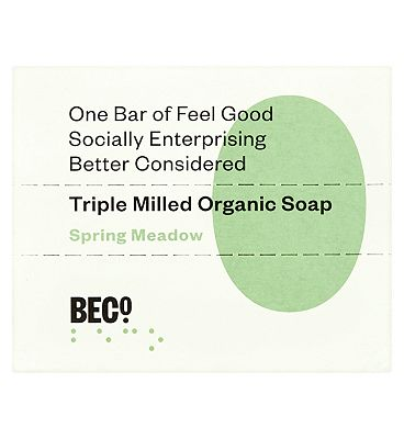BECO Organic Soap Bar Spring Meadow 100g