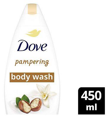 Dove Body Wash Shea Butter 450ml