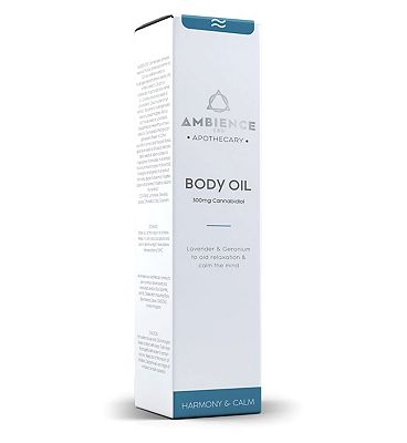Ambience CBD Apothecary Body Oil 300mg Cannabidiol - 100ml