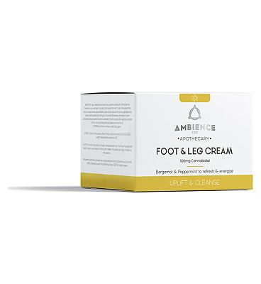 Ambience CBD Apothecary Foot & Leg Cream 300mg Cannabidiol - 200ml