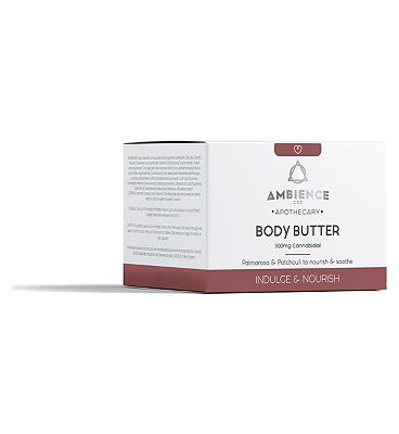 Ambience CBD Apothecary Body Butter 300mg Cannabidiol - 200ml