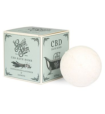 Green Stem CBD Bath Bomb with Essential Oils - 100mg