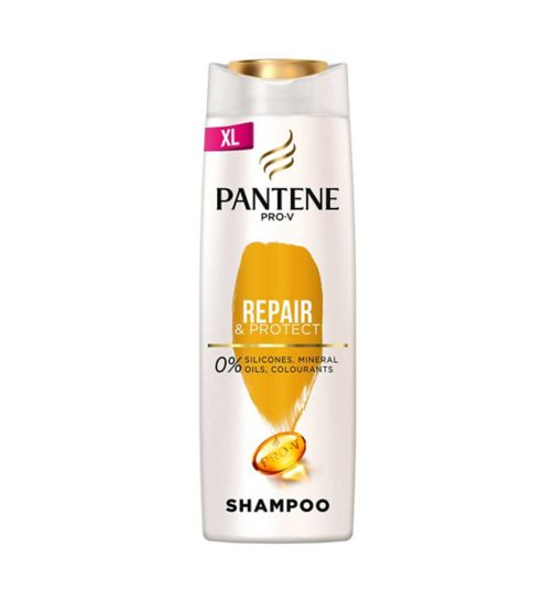 Pantene Pro-V Repair & Protect Shampoo, For Damaged Hair, 500ml
