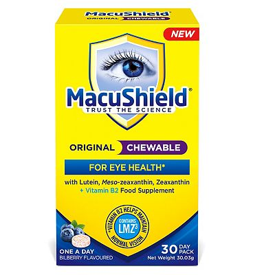 Macushield Original Chewable 30 Tablets