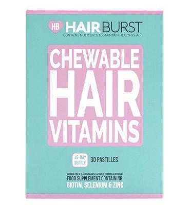 Hairburst Chewable Hair Vitamins 15 Day Supply