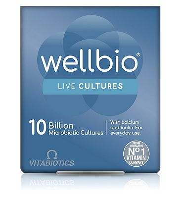 Vitabiotics Wellbio 10 Billion Microbiotic Cultures - 30 Capsules