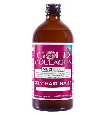 Gold Collagen MultiDose 30 x 15ml servings / day