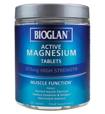Bioglan Active Magnesium 120 Tablets