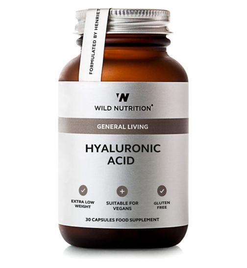 Wild Nutrition General Living Hyaluronic Acid 30 - 30 Capsules
