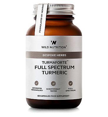 Wild Nutrition Bespoke Herbs Turmaforte Full Spectrum Turmeric - 60 Capsules