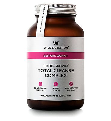 Wild Nutrition Bespoke Woman Food Grown Total Cleanse Complex - 90 Capsules