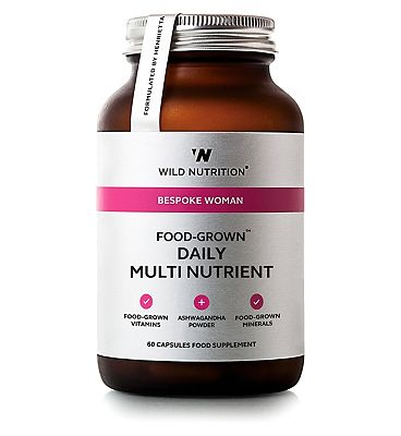 Wild Nutrition Bespoke Woman Food Grown Daily Multi Nutrient - 60 Cpasules