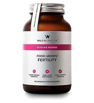 Wild Nutrition Bespoke Woman Food Grown Fertility - 60 Capsules