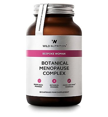Wild Nutrition Bespoke Woman Botanical Menopause Complex - 60 Capsules