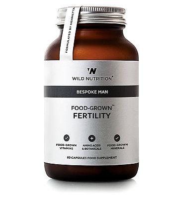 Wild Nutrition Bespoke Man Food-Grown Fertility - 60 capsules