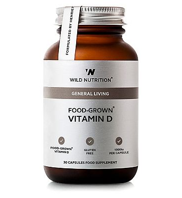 Wild Nutrition General Living Food-Grown Vitamin D - 30 capsules