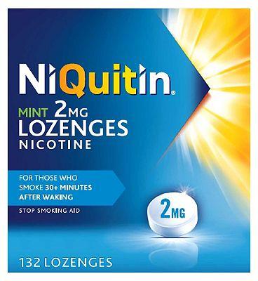 NiQuitin Mint 2mg 132 Lozenges