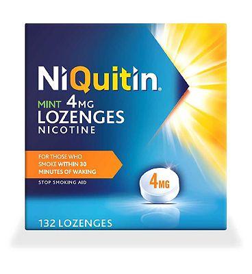 NiQuitin Mint 4mg 132 Lozenges