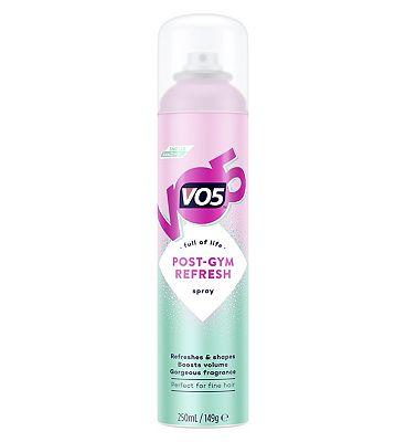 VO5 Post Gym Refresh Spray