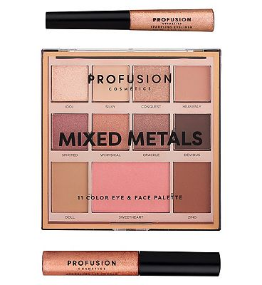 Profusion Mixed Metals Eye & Face Palette Rose Gold Chrome