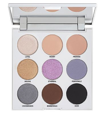 Profusion Mixed Metals Eyeshadow Palette Artic