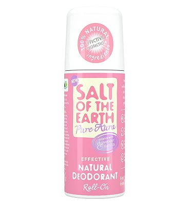 Salt of the Earth Lavender & Vanilla Natural Roll-on Deodorant 75ml