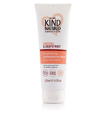 Kind Natured Brightening Exfoliating Face Wash 125ml