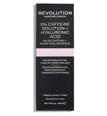 revolution-skincare-5%-caffeine-solution-+-hyaluronic-acid-targeted-under-eye-serum-30ml by revolution