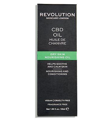 Revolution Skincare CBD Dry Skin Nourishing Oil 30ml