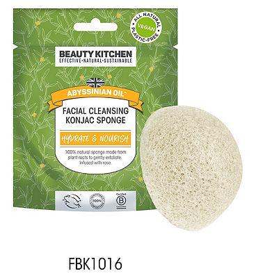 Beauty Kitchen Abyssinian Oil Facial Cleansing Konjac Sponge