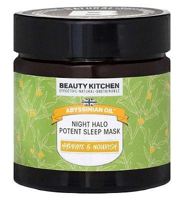 Beauty Kitchen Abyssinian Oil Night Halo Potent Sleep Mask - 60ml