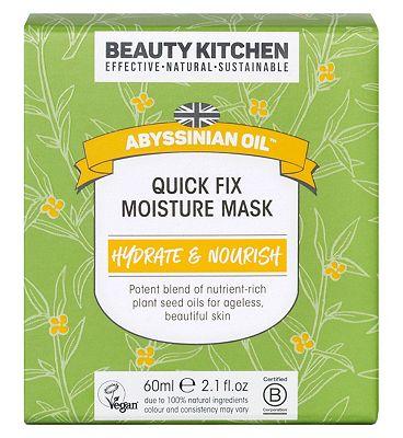 Beauty Kitchen Abyssinian Oil Quick Fix Moisture Mask - 60ml