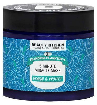 Beauty Kitchen Seahorse Plankton 5 Minute Miracle Mask - 60ml