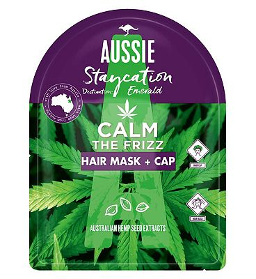 Aussie Calm The Frizz Hair Mask Conditioner With Hemp Seed Oil 20ml