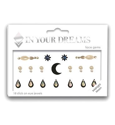 In Your Dreams Midnight Moon Face Gems
