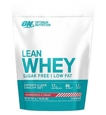 Optimum Nutrition Opti-Lean Whey Strawberry Flavour - 390g