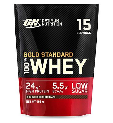 Optimum Nutrition Gold Standard 100% Whey Double Rich Chocolate Flavour - 450g