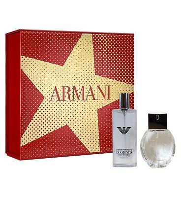 Emporio Armani Diamonds 50ml Eau de Parfum Perfume Gift Set for Her