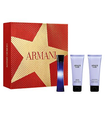 Armani Code Femme 50ml Eau de Parfum Perfume Gift Set for Her